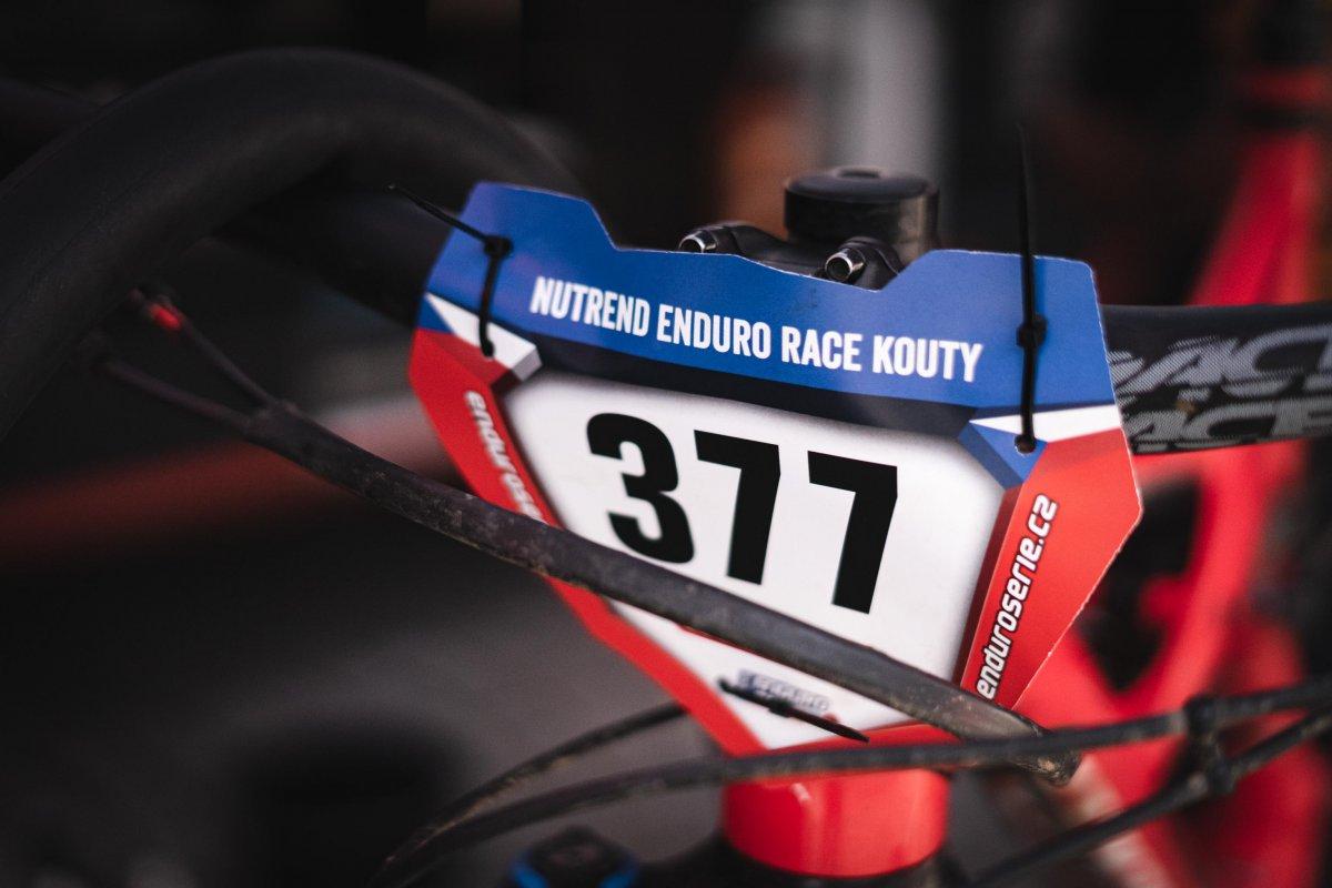 Nutrend Enduro Race Kouty - parkování
