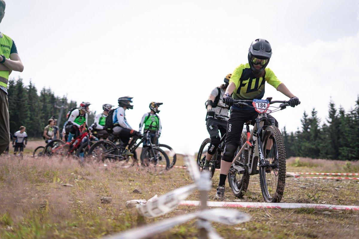 Nutrend Enduro Race Kouty 2021 - Mapy